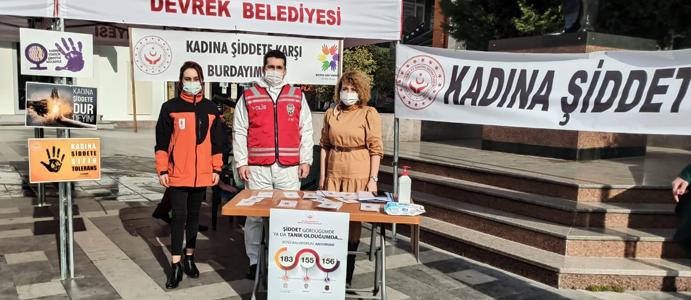 AFGD: KADINA ŞİDDETE KARŞI BURADAYIM