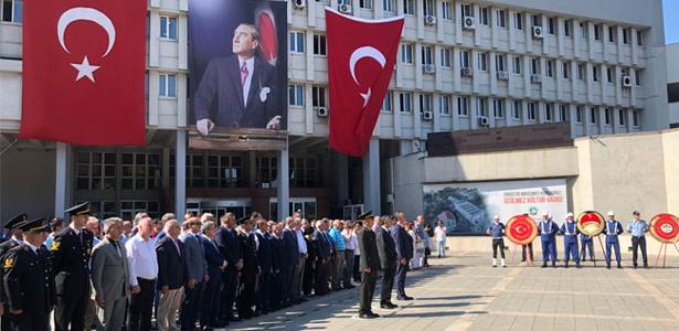 ATATÜRK'ÜN ZONGULDAK'A GELİŞİNİN 88.YIL DÖNÜMÜ KUTLANDI