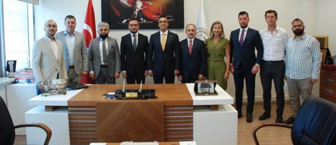 BAKAN YARDIMCISI ZONGULDAK'A GELDİ