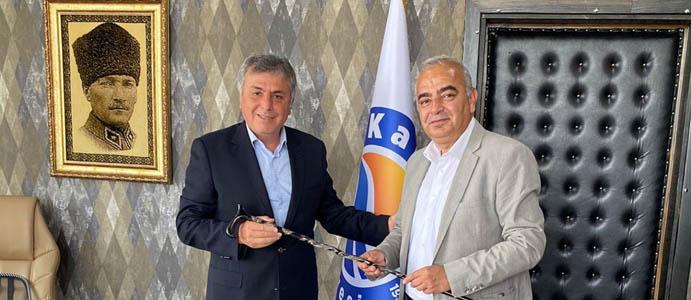 BAŞKAN BOZKURT, BAŞKAN AYDIN'I ZİYARET ETTİ