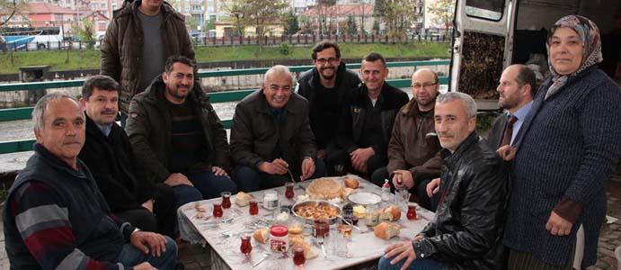 BAŞKAN BOZKURT DAVETLERİNİ KIRMADI