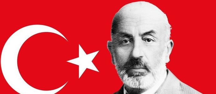BAŞKAN BOZKURT, MEHMET AKİF ERSOY'U ANDI