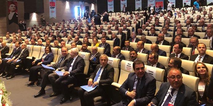 BOZKURT ANKARA'DA CHP'Lİ BELEDİYE BAŞKANLARI TOPLANTISINA KATILDI