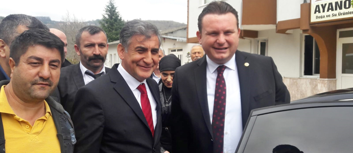BÜLBÜL AKDEMİR'E DESTEK İÇİN DEVREK'TEYDİ