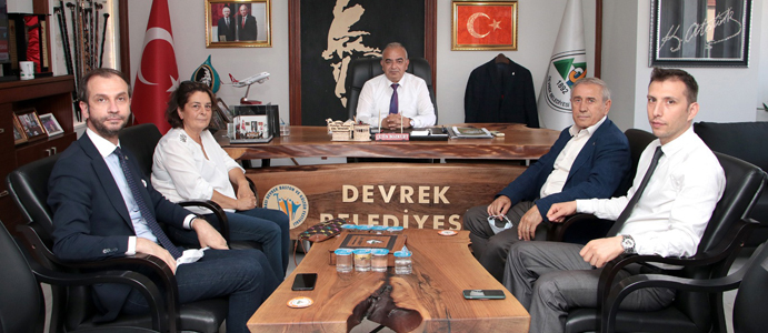 CHP GENEL BAŞKAN YARDIMCISI KAYA DEVREK'E GELDİ