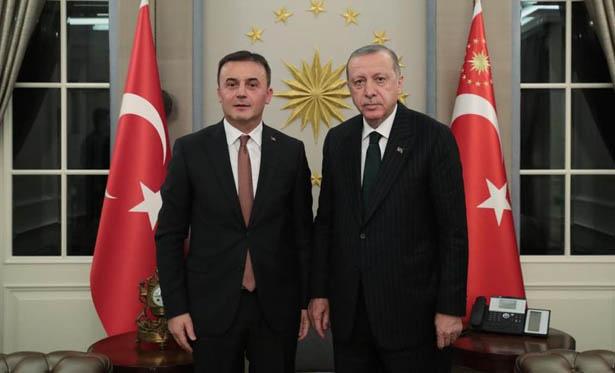 CUMHURBAŞKANI ERDOĞAN, BAŞSAVCI KOCAMAN'I KABUL ETTİ