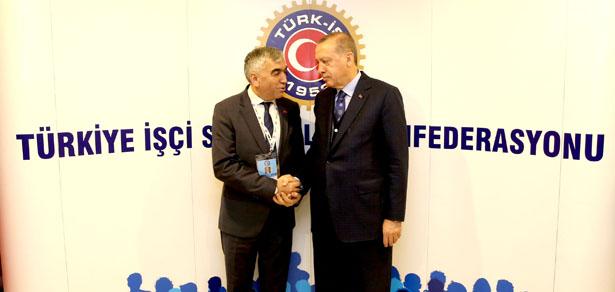 DEMİRCİ, CUMHURBAŞKANI'NA BİLGİ VERDİ