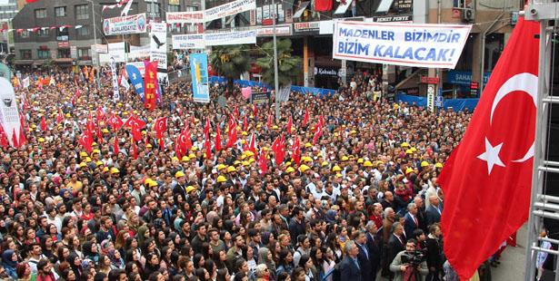 DEMİRCİ'DEN 1 MAYIS TEŞEKKÜRÜ