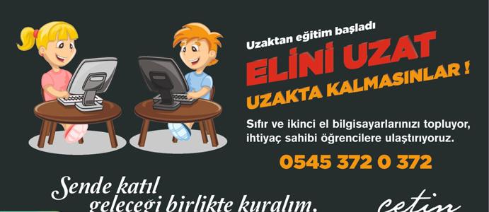 DEVREK BELEDİYESİ'NDEN ANLAMLI KAMPANYA: ELİNİ UZAT/ UZAK KALMASINLAR