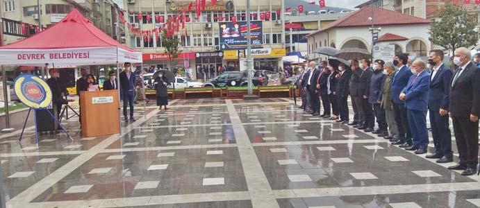 DEVREK' TE 'MUHTARLAR GÜNÜ' KUTLANDI