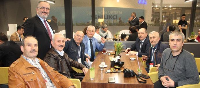 DEVREK TSO UNİCERA SERAMİK BANYO MUTFAK FUARI'NA KATILDI