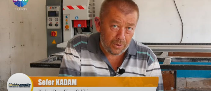 DEVREKLİ İŞ ADAMI SHOWTÜRK'ÜN KONUĞU OLDU