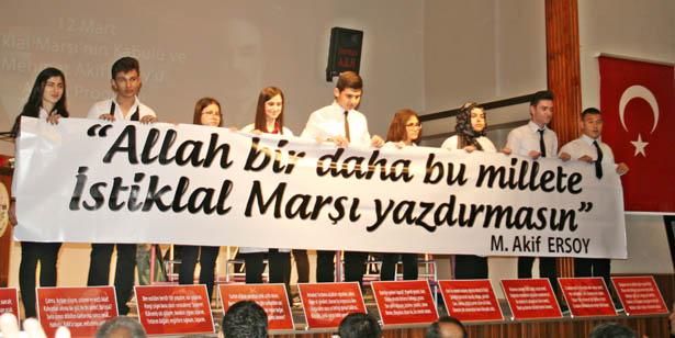 DEVREK'TE İSTİKLAL MARŞI'NIN KABULÜNÜN 97. YILI KUTLANDI