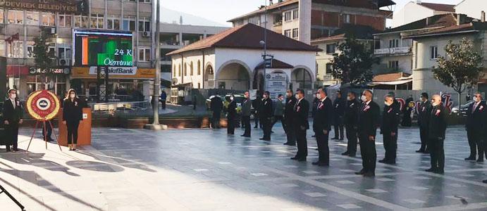 """DEVREK'TE """"ÖĞRETMENLER GÜNÜ"""" SESSİZ SEDASIZ KUTLANDI"""