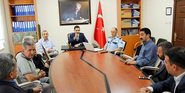 DEVREK'TE 'SEÇİM GÜVENLİĞİ' TOPLANTISI YAPILDI