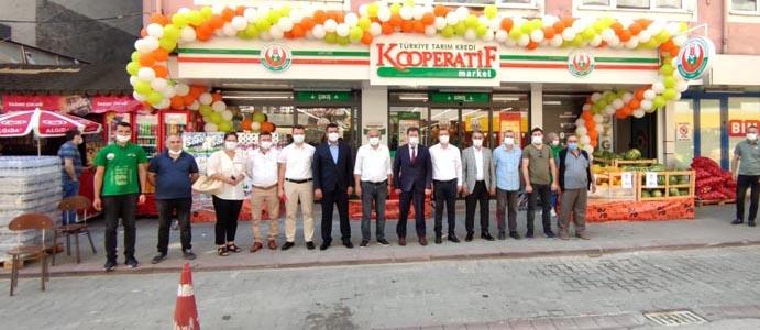 DEVREK'TE, TARIM KREDİ KOOPERATİF MARKET AÇILDI
