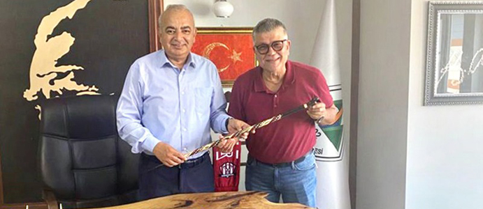 EPDK UZMANI SEVİL'DEN BAŞKAN ÇETİN BOZKURT'A ZİYARET