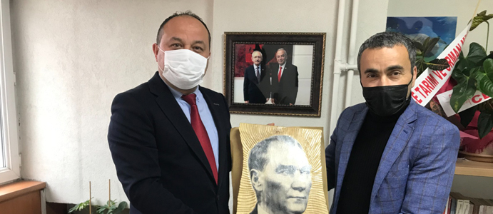 ESNAF LÜTFİ YAĞCI'DAN İBRAHİM TIĞ'A ZİYARET
