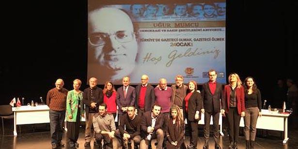 'GAZETECİ HALKIN AVUKATIDIR'