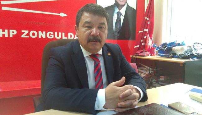 GÜNEY, ATATÜRK'ÜN ZONGULDAK'A GELİŞİNİ KUTLADI