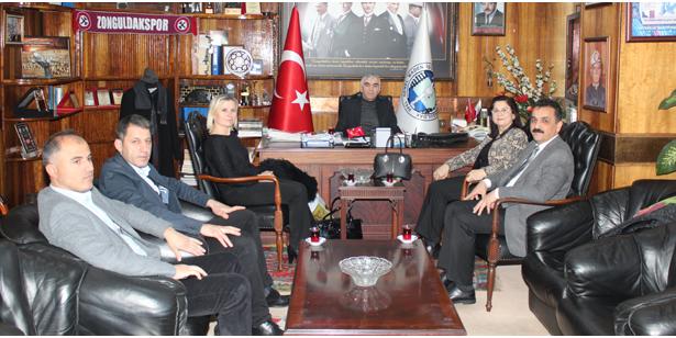 İŞKUR'DAN GMİS'E ZİYARET
