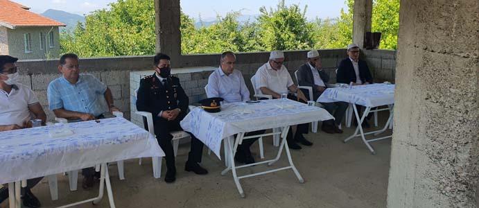KAYMAKAM ALTAY ŞEHİT GÖKTEPE'NİN KABRİNİ ZİYARET ETTİ
