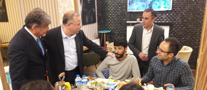 MHP MYK ÜYESİ MURAT KOTRA BAŞKAN ADAYI AKDEMİR'E DESTEK İÇİN DEVREK'TE