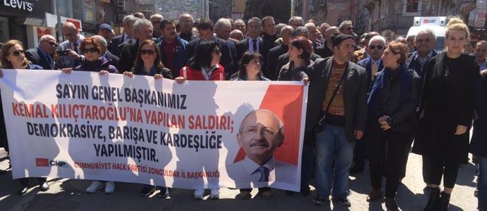 """""""PROTESTO DEĞİL, ORGANİZE BİR EYLEM"""""""