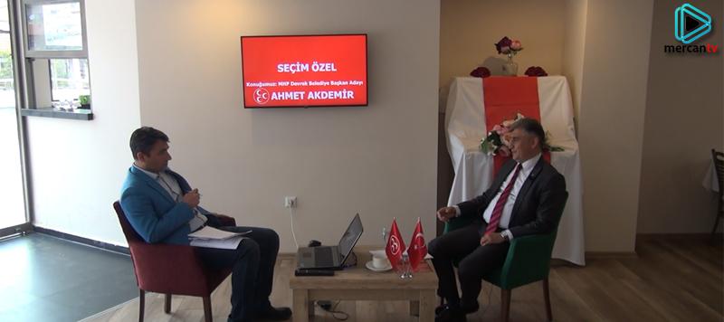 Seçim Özel - Konuk MHP Devrek Belediye Başkan Adayı Ahmet Akdemir