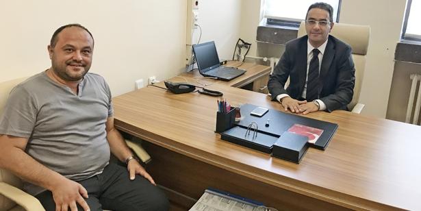 TIĞ'DAN, SAVCI TEZCAN'A ZİYARET