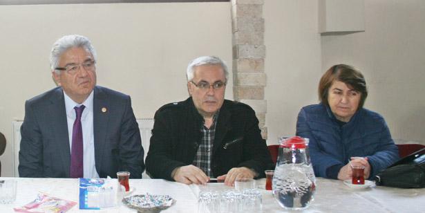 TURPCU, DEVREK'TE PARTİLİLERLE BULUŞTU