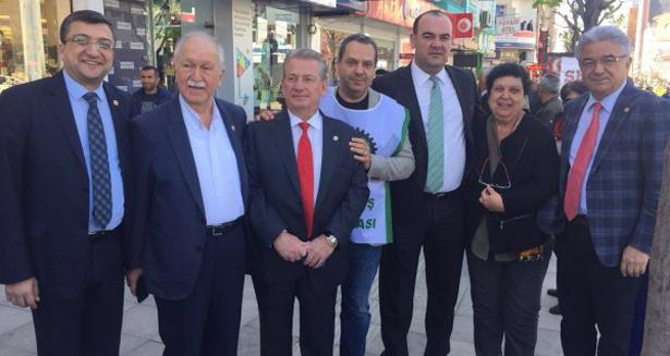 TURPCU, ŞEKER MİTİNGİ'NE KATILDI