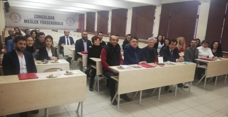 ZONGULDAK MYO AKADEMİK GENEL KURUL TOPLANTISI YAPILDI