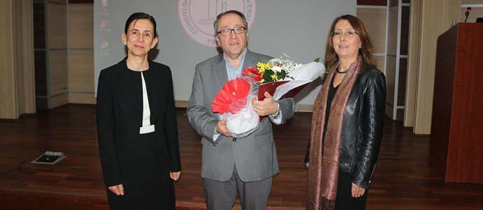 ZONGULDAKLI BİLİM İNSANI PROF. DR. MEHMET KESİMER BEÜ'^DE KONFRANS VERDİ
