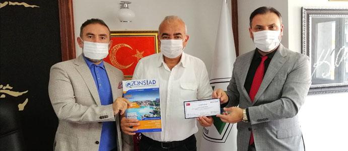 ZONSİAD BAŞKANI TISKAOĞLU'DAN BAŞKAN BOZKURT'A ZİYARET