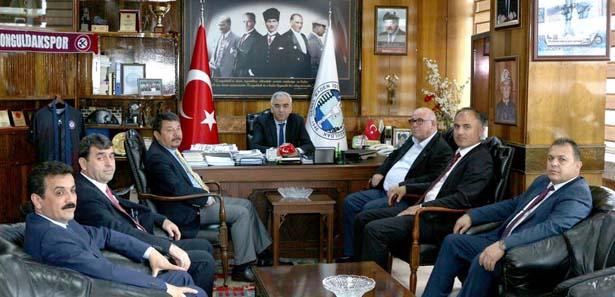 CHP İL BAŞKANLIĞI, GMİS'İ ZİYARET ETTİ