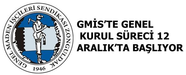 GMİS'TE GENEL KURUL SÜRECİ 12 ARALIK'TA BAŞLIYOR