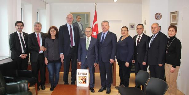 """""""KARDEŞ BELEDİYECİLİĞİ GERÇEK ANLAMINA KAVUŞTURDUK"""""""