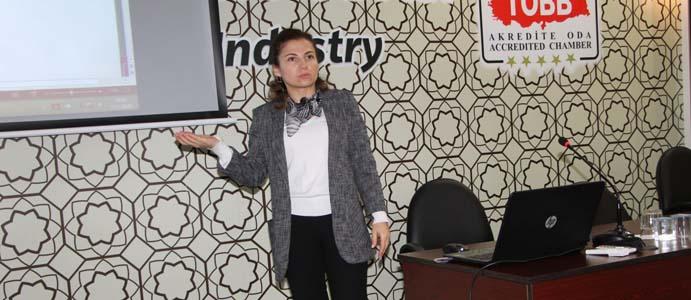"""TSO'DA """"KİŞİSEL VERİLERİN KORUNMASI"""" ANLATILDI"""