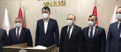 BAKAN KURUM ZONGULDAK'A GELDİ