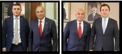 BAŞKAN BOZKURT, KOCAMAN VE ALAGÖZ'Ü FESTİVALE DAVET ETTİ