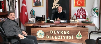 BAŞKAN CANBAŞ'TAN BAŞKAN BOZKURT'A ZİYARET