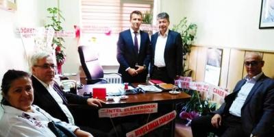 DEVREK CHP'DEN  'HAYIRLI OLSUN' ZİYARETİ