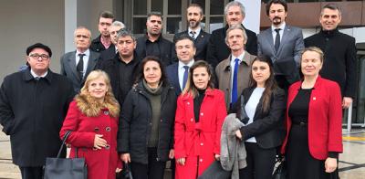CHP'den Vali Çınar'a ziyaret