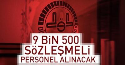 DİYANETE 9 BİN 500 SÖZLEŞMELİ PERSONEL