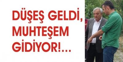 DÜŞEŞ GELDİ, MUHTEŞEM GİDİYOR!...