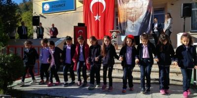 EĞERCİ'DE 29 EKİM COŞKUYLA KUTLANDI