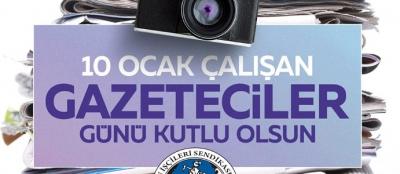 GMİS GAZETECİLER GÜNÜNÜ KUTLADI