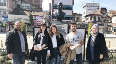 İKTİSAT FAKÜLTESİ ÖĞRENCİLERİ  DEVREK'TE ARAŞTIRMA YAPTI