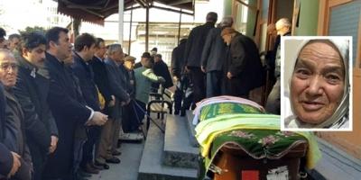 KAYMAKAM KARAKAYA'NIN ANNEANNESİ TOPRAĞA VERİLDİ